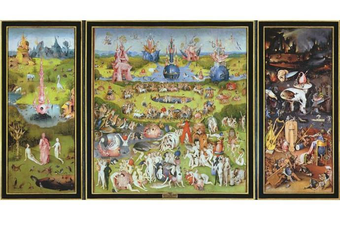 If you could stay a night at a museum which one would it be and below which painting would you place your bed?