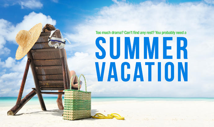 Summer vacation is almost here! What are some of your favorite memories?