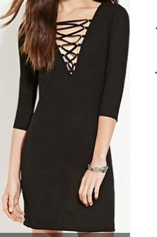 Should I wear this casual body con dress to school (picture below)?