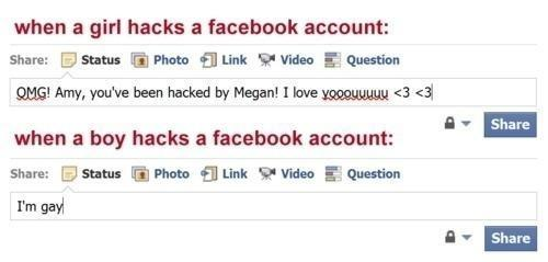 Do your friends ever hack your social media?