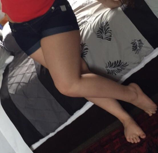 What do you think thighs like this? Slightly thicker?