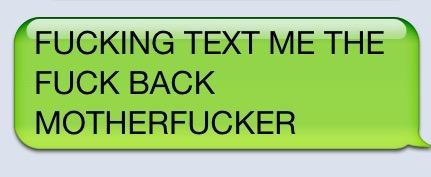 Funniest way to get a person to text back?!?