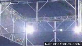 A gay vs a lesbian in a steel cage match. Who wins?