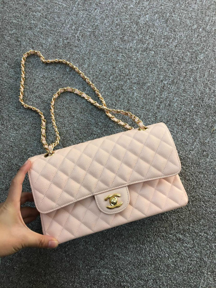 Yes or no to this light pink Chanel bag?