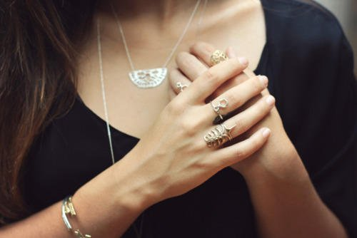 On girls, do you like the look of rings?