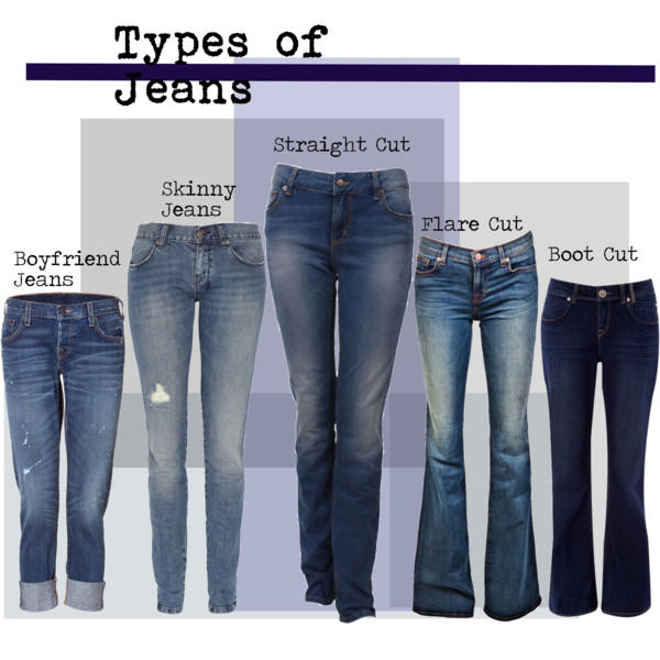 Guys which of these jeans look best on women?