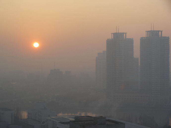 How bad would you rate the air pollution in your city out of 10?