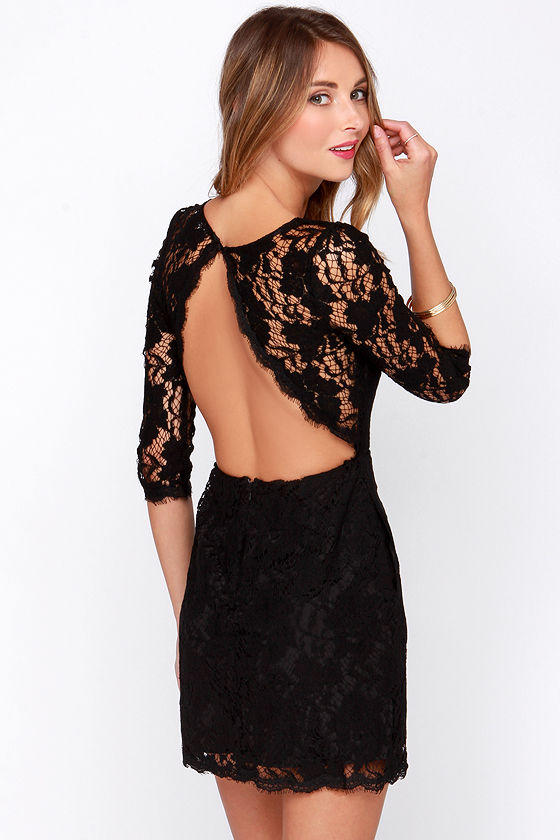 Backless tops/dresses?