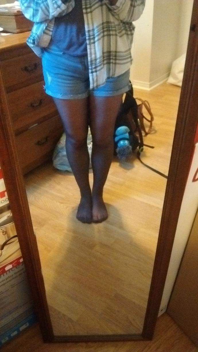 Are my thighs too big?