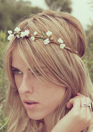 Hair accessories on women: cute or silly?