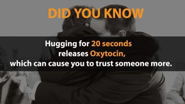 Have you hugged anyone today?