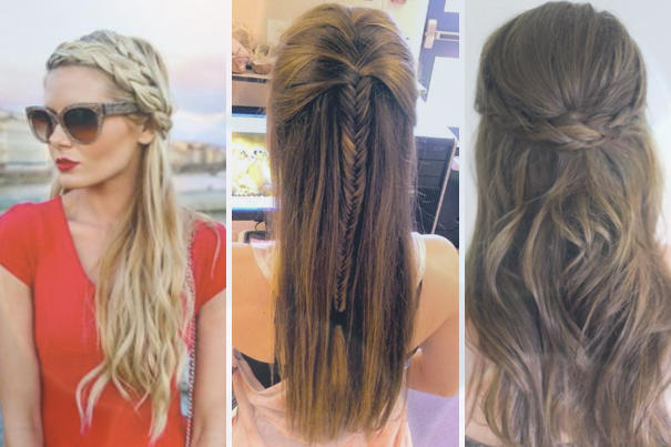 Braided hair pretty or silly?