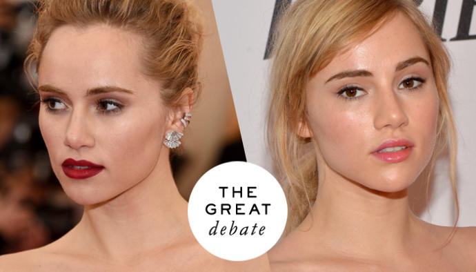 Matte vs dewy makeup. Which do you use/like most?