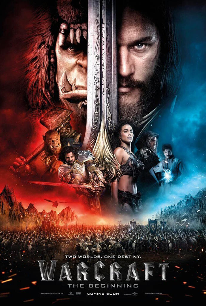 Are you going to watch Warcraft movie?