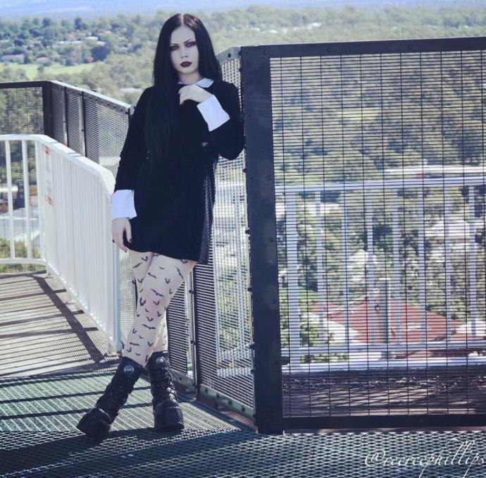 New rocks and demonia boots on girls?