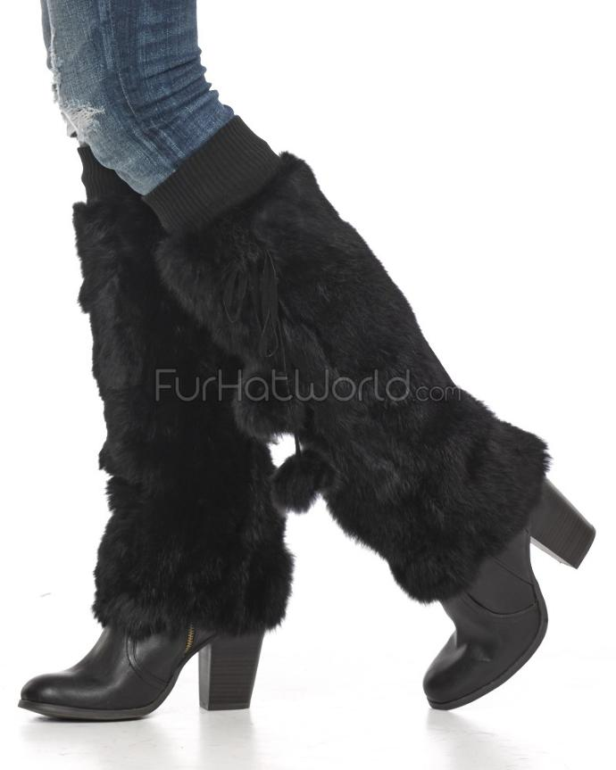Fluffy boot covers? Funky or stupid?