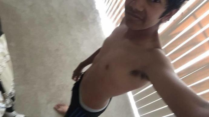 Recently, my friends have been saying that I look ripped. I've been working out and I do push-ups and curl-ups when I'm bored. What do you guys think?