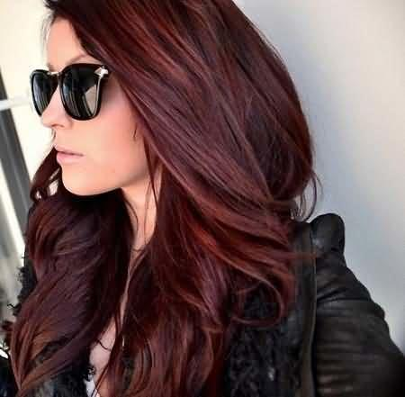 Your opinions on red lowlights, highlights, dip dye and ombre in brown hair?