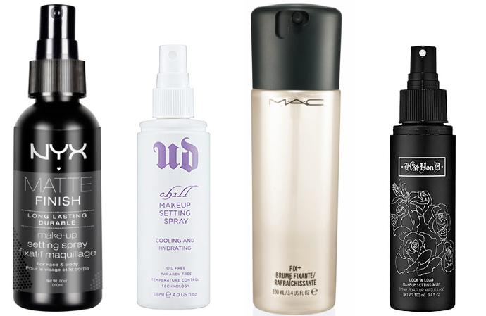What is the best makeup setting spray for the Summer (sweating)?
