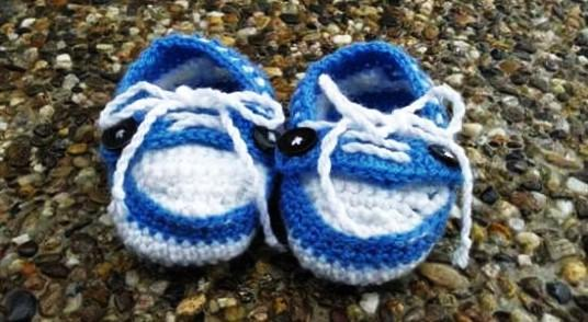 how you find booties that I knitted :) ??