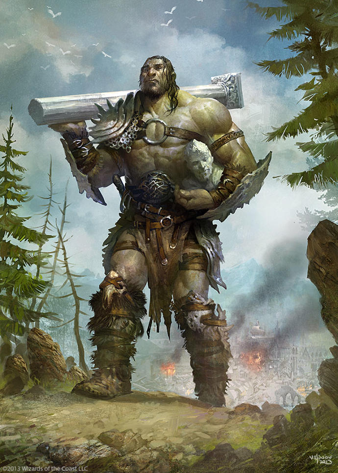 Rate this Mythological Creature: The Giant?
