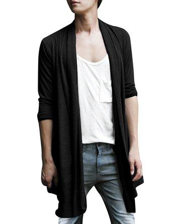 Girls, do you find man with long transparence cardigan attractive?