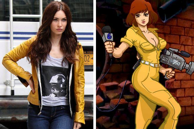 Does Megan Fox make a good April O'Neil?