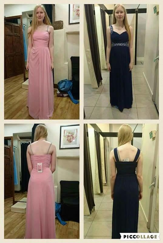 Which dress looks better?