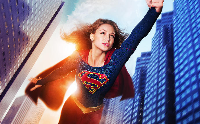I think I have a mini-crush on Supergirl?