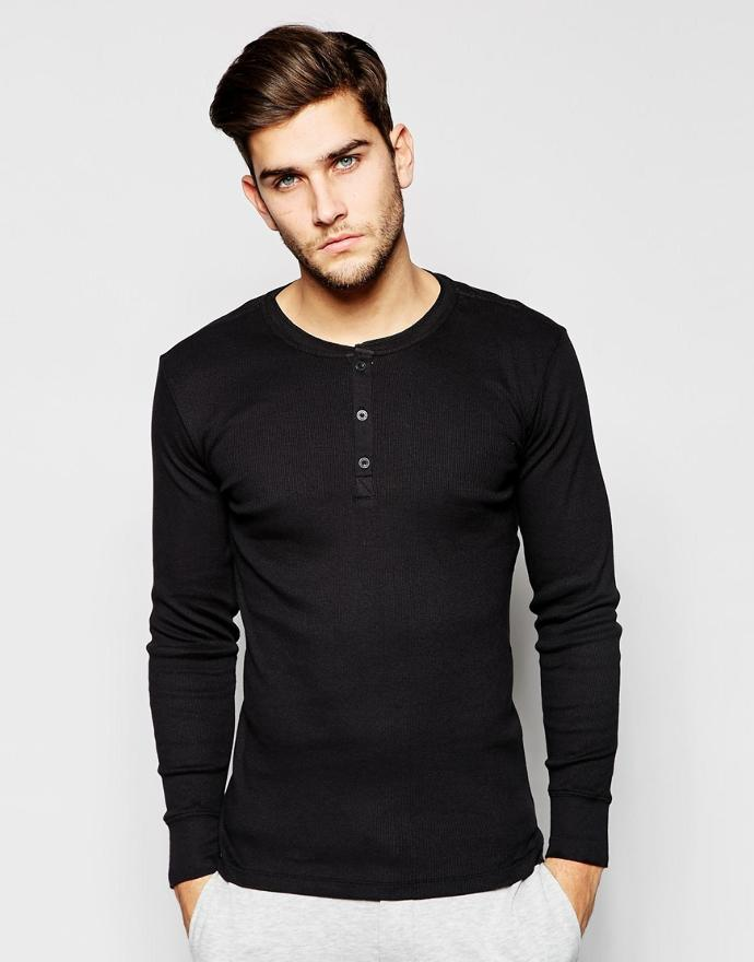 Girls, what do you think of slim guys in Henley shirts ?