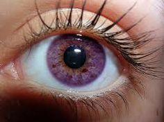 Is there a natural eye color like amethyst 👁💜?