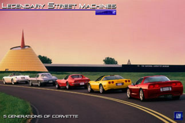 Which generation of the Chevy Corvette is your favorite?