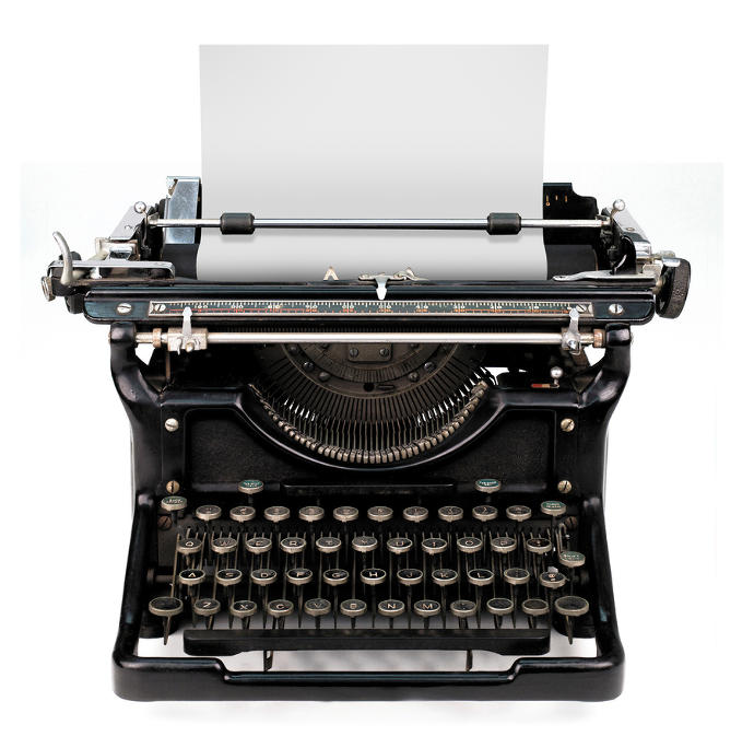 Have you used a typewriter before?