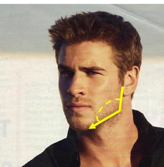 Do you prefer guys with strong jawlines?