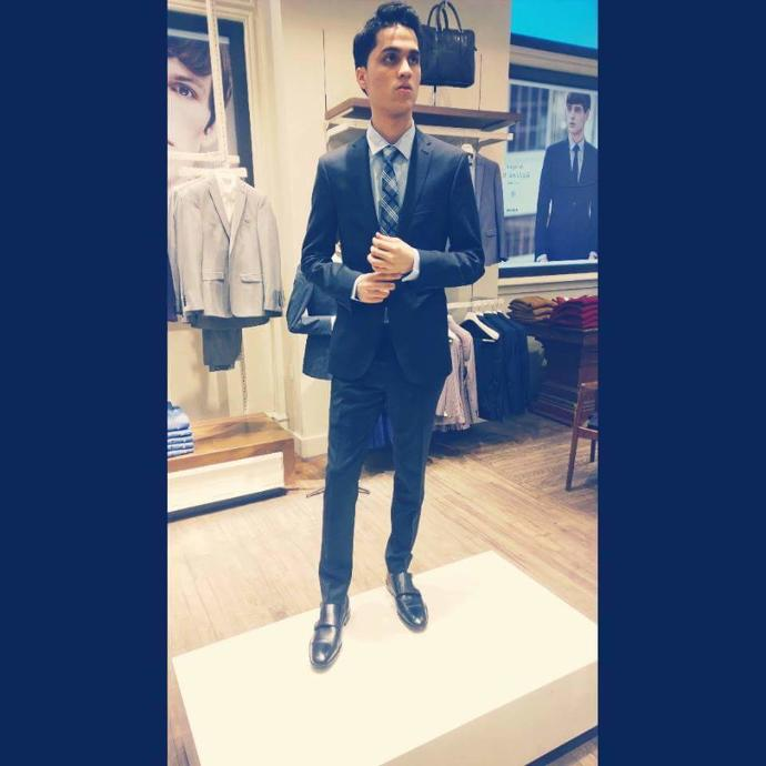 Girls, Men in suits. Yay or Nay?