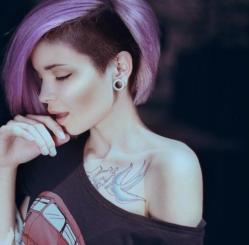 Thoughts on girls with plugs/stretched ears?