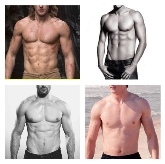 Girls, Out of these 4 bodies which one is more attractive to you and why?