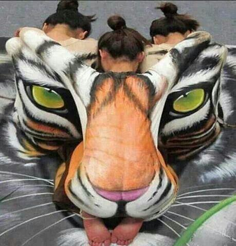 Girls, would you ever be willing to have body art done one you?