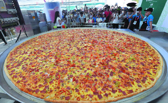 Could you eat this entire pizza in one night?