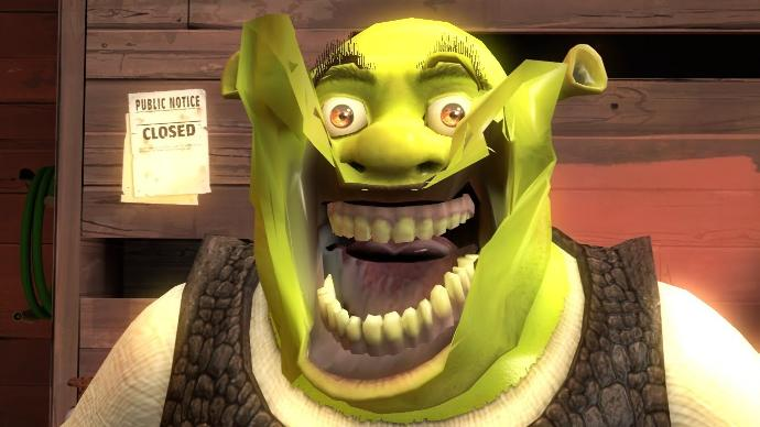 What would your reaction be if you turned on the TV one day and you saw a live action movie trailer for Shrek is Love Shrek is Life?