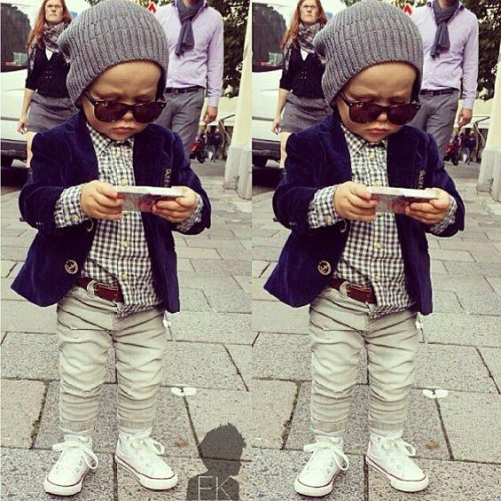 Do you think a child should dress this way?