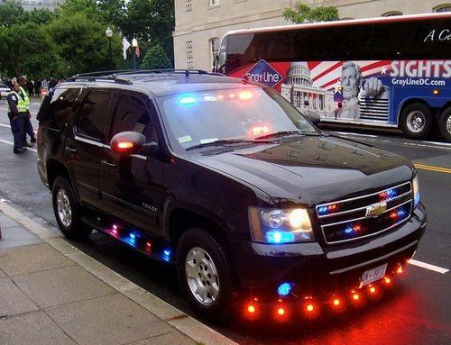 Why are emergency vehicles in US looks ridiculous. By that I mean full of unnecessary emergency lights?
