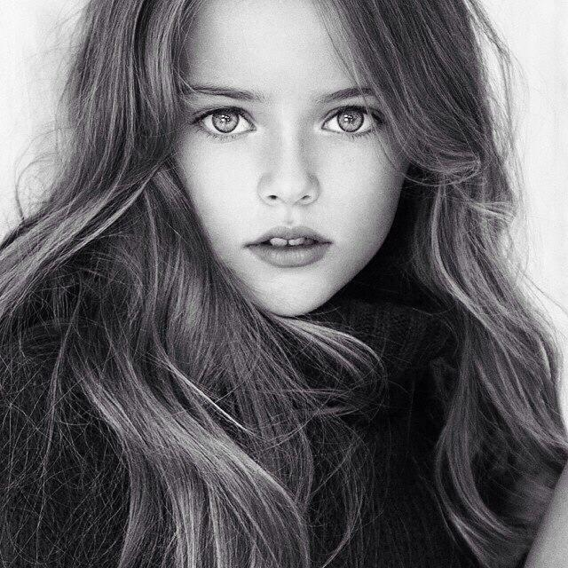 Is this 8 yr old girl really the prettiest girl in the world ?