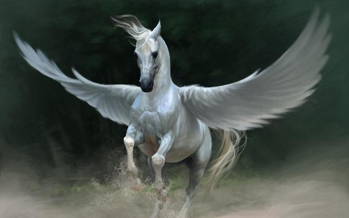 Would you rather have a  pegasus or a unicorn?