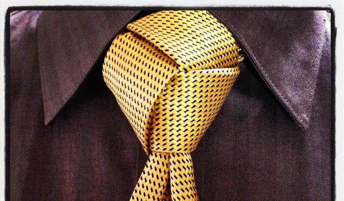 What do you think of these tie knots?