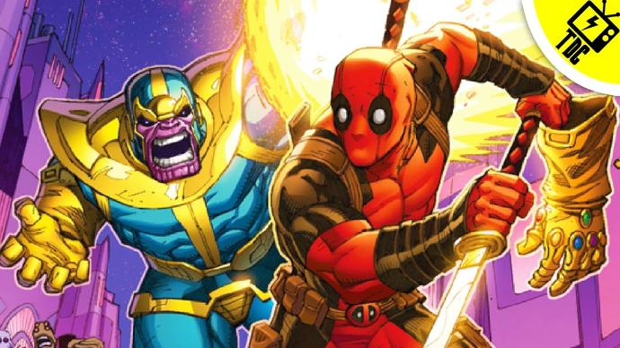 Who else wants to see Deadpool and Thanos in the same movie?