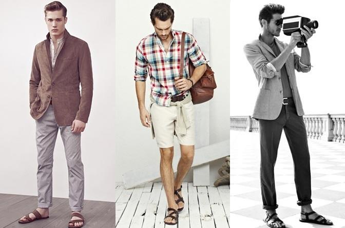 Guys with Sandals?