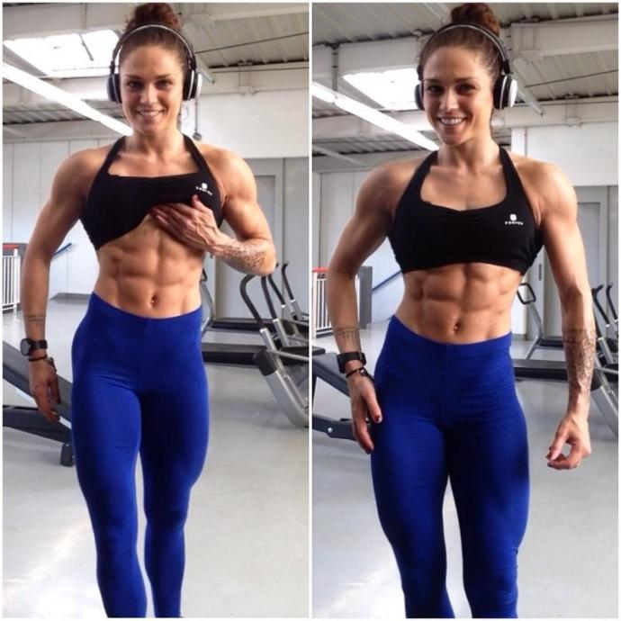 What level of fitness do you think looks best on women?