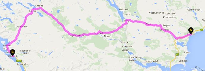 Would you bike across Scotland :p?