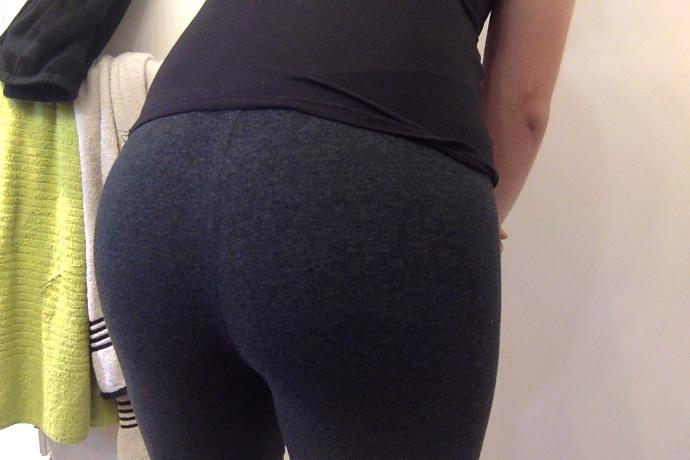 What do you think on my Gf's butt? Is it nice or not?